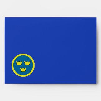 Three Crowns of Sweden Envelopes