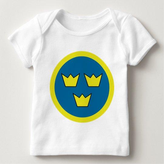 Three Crowns Swedish Insignia Baby T-Shirt