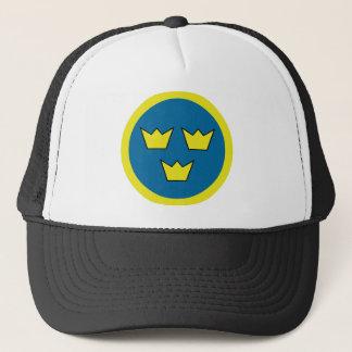 Three Crowns Swedish Insignia Trucker Hat