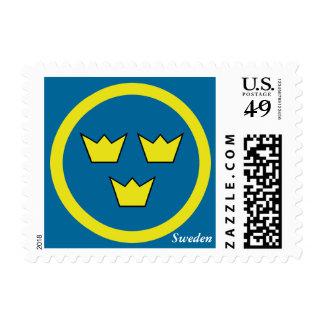 Three Crowns Swedish Postage