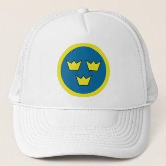 Three Crowns Swedish Trucker Hat