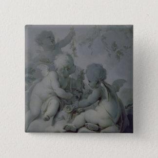 Three Cupids, c.1775 Pinback Button
