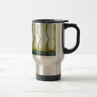 Three Curves over the Green River (New Japonisme) Travel Mug