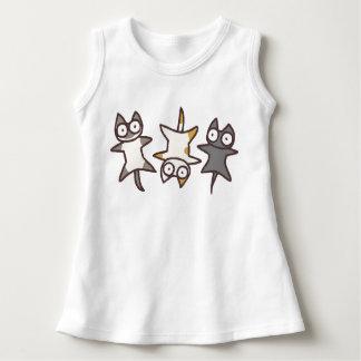 Three Cute Cats Dress