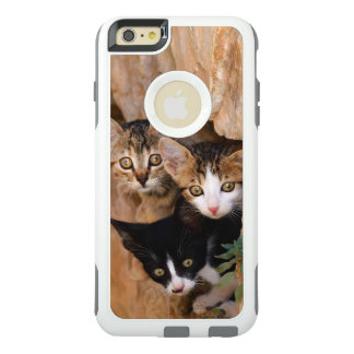 Three Cute Curious Cat Kittens Photo -- Protective OtterBox iPhone 6/6s Plus Case