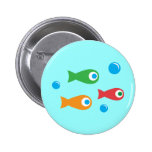 Three Cute Fish Buttons