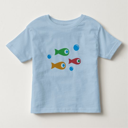 Three Cute Fish Toddler T-shirt