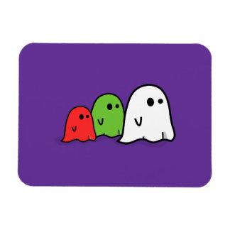 Three Cute Ghosts Halloween Premium Flexi Magnet