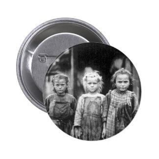 Three Cute Little Girls Vintage South Carolina Pinback Button