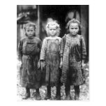Three Cute Little Girls Vintage South Carolina Post Cards