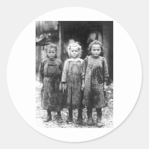 Three Cute Little Girls Vintage South Carolina Sticker