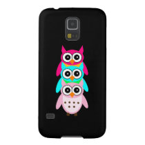 Three Cute Owls Galaxy S5 Cover