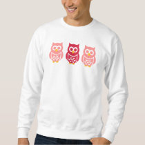 Three cute owls sweatshirt