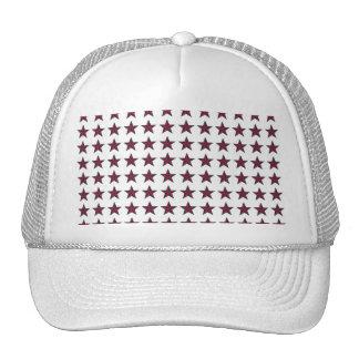 Three-D Patriotic Stars Trucker Hat
