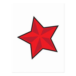 THREE D STAR POSTCARD