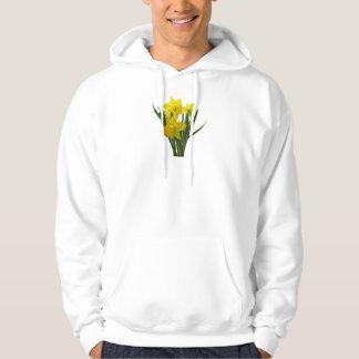 Three Daffodils Standing Guard Hoody