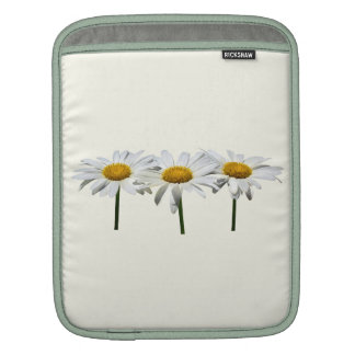 Three Daisies In a Row Sleeves For iPads