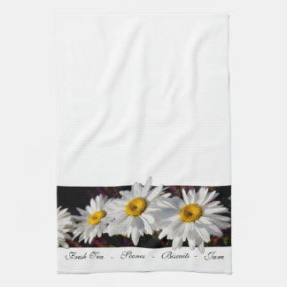Three Daisies in the Sun - Kitchen Towel