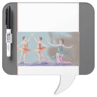 Three Dancers Art Dry-Erase Board