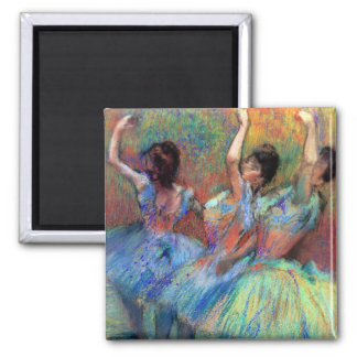 Three Dancers by Degas Magnet
