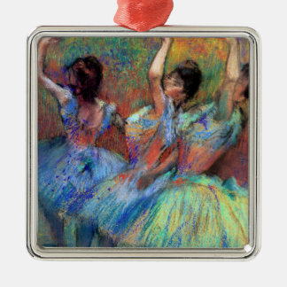Three Dancers by Degas Metal Ornament