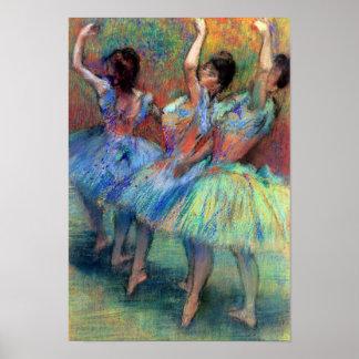 Three Dancers by Degas Print