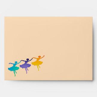 Three Dancers Envelope
