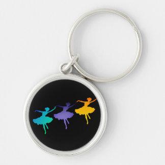 Three Dancers Keychain