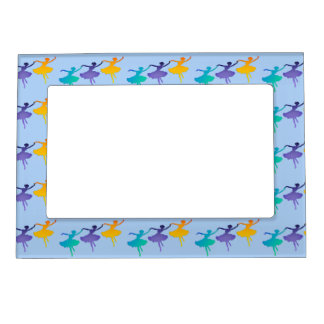 Three Dancers Magnetic Picture Frame