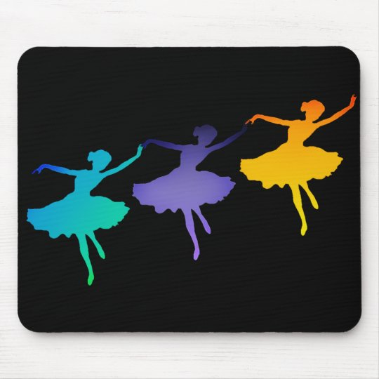 Three Dancers Mouse Pad