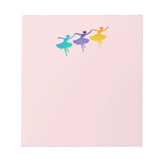 Three Dancers Notepad