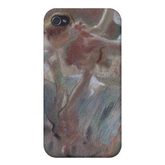 Three Dancers Preparing for Class - Edgar Degas iPhone 4/4S Case
