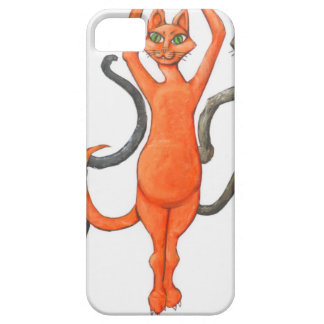 Three Dancing Cats iPhone SE/5/5s Case