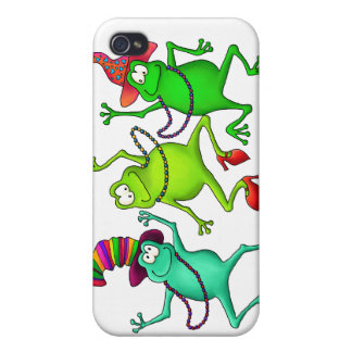 Three Dancing Frogs Cases For iPhone 4