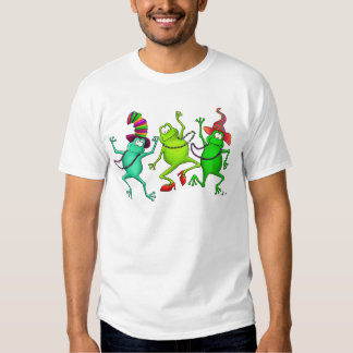 Three Dancing Frogs Shirt