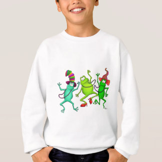 Three Dancing Frogs Sweatshirt