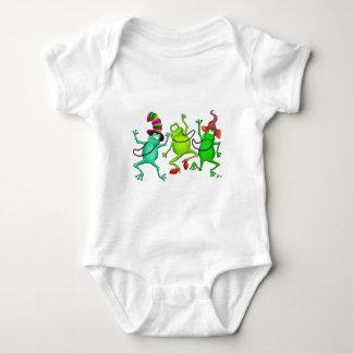 Three Dancing Frogs T-shirt