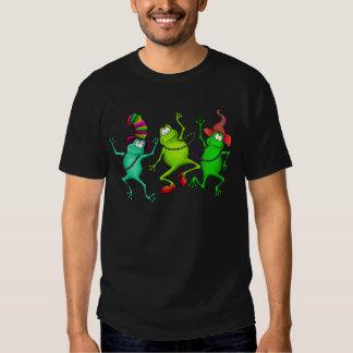 Three Dancing Frogs T Shirt