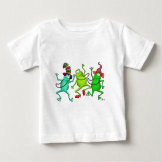 Three Dancing Frogs Tee Shirt