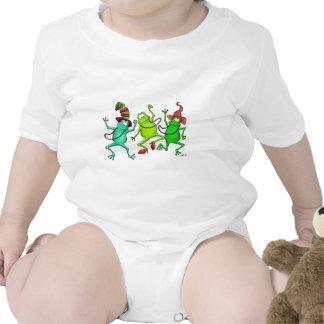 Three Dancing Frogs Shirts