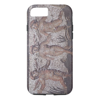 Three dancing putti accompanied by one playing the iPhone 7 case