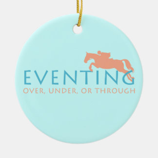 Three Day Eventing Christmas Ornament