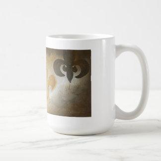 Three de Lis Coffee mug
