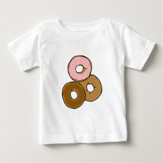 Three Delicious Donuts Baby T-Shirt