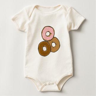 Three Delicious Donuts Bodysuits