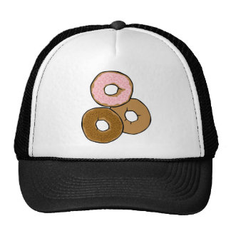 Three Delicious Donuts Hats