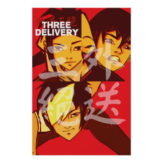Three Delivery™ Group Poster