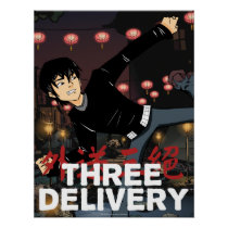 Three Delivery™ Sid Poster