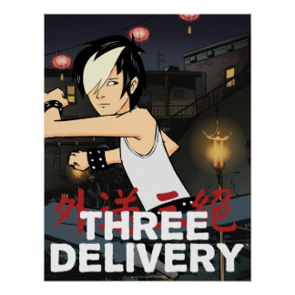 Three Delivery™ Tobey Poster
