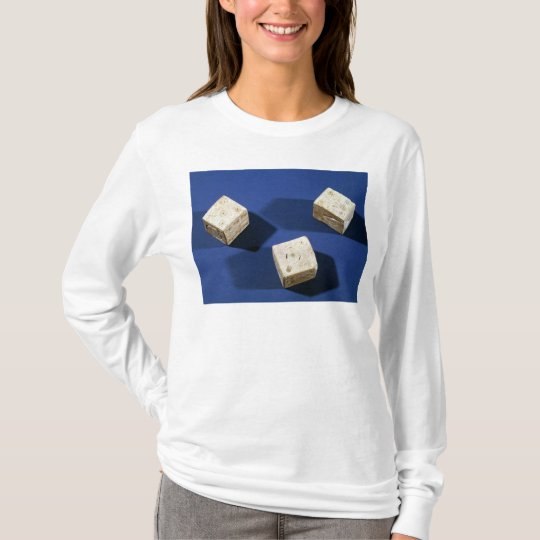 Three dice, from the acropolis at Osteria T-Shirt